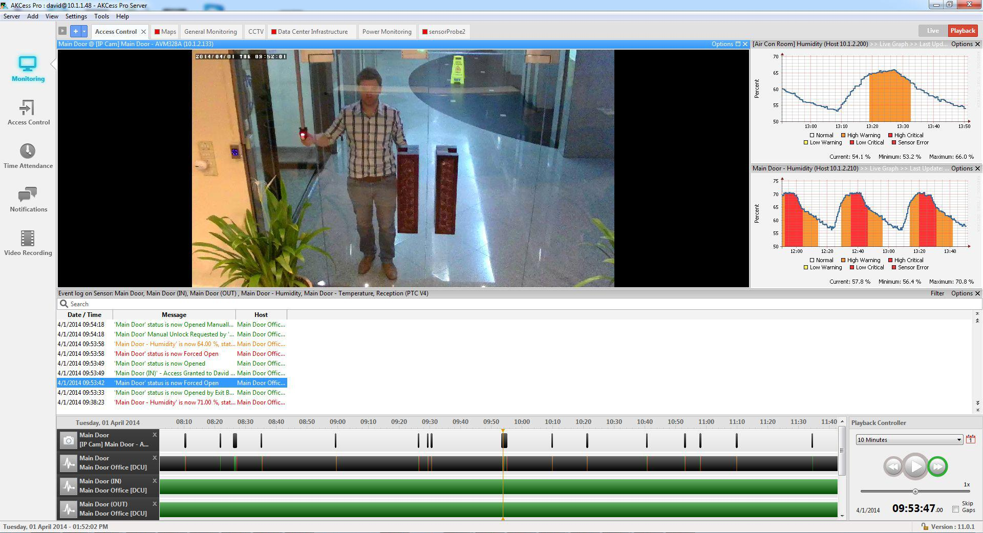 AKCess Pro Server : Video Recording